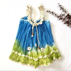 Baby Muslin-Linen Dress